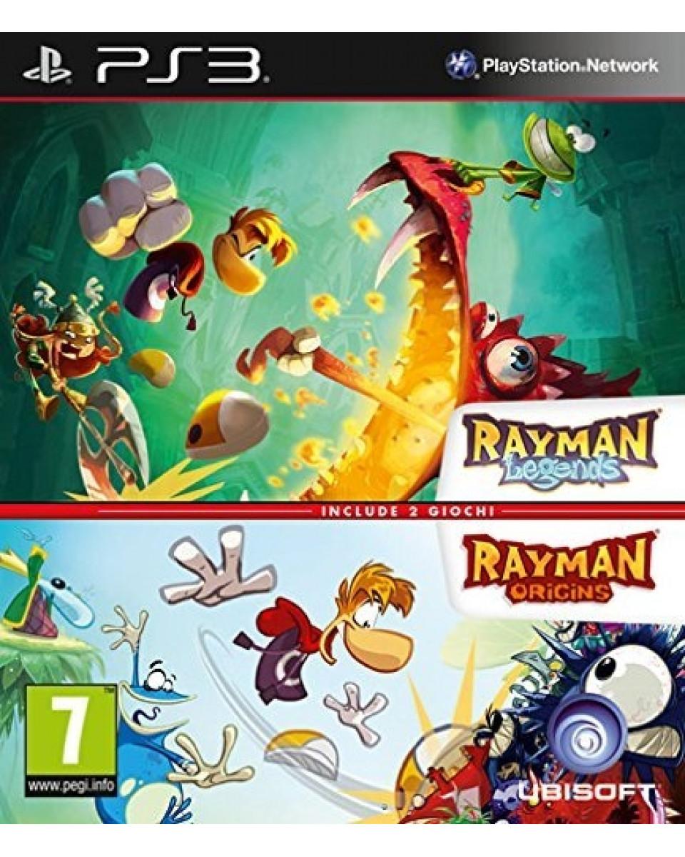 PS3 Rayman - Legend + Origins