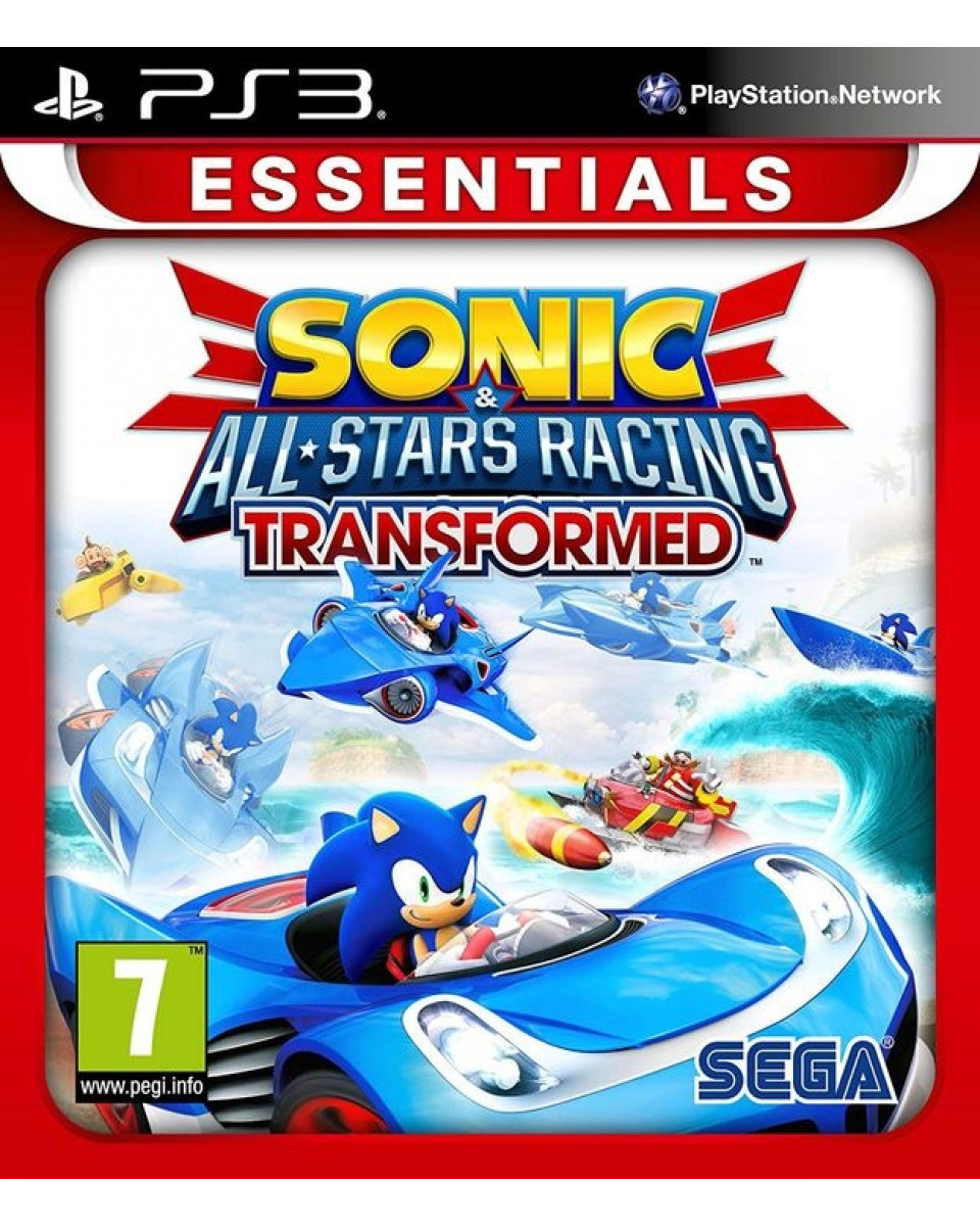 PS3 Sonic & Sega All Stars Racing Transformed