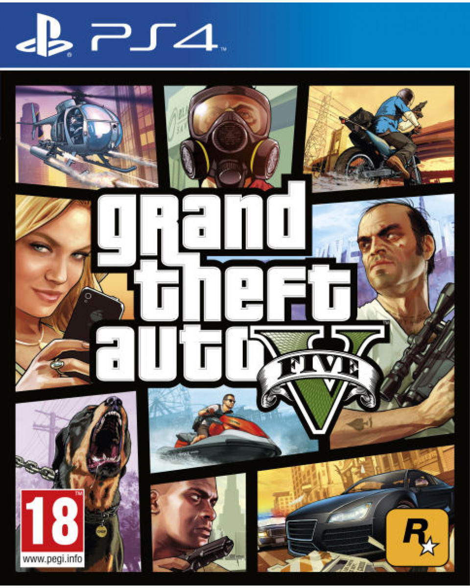 PS4 Grand Theft Auto 5 - GTA V