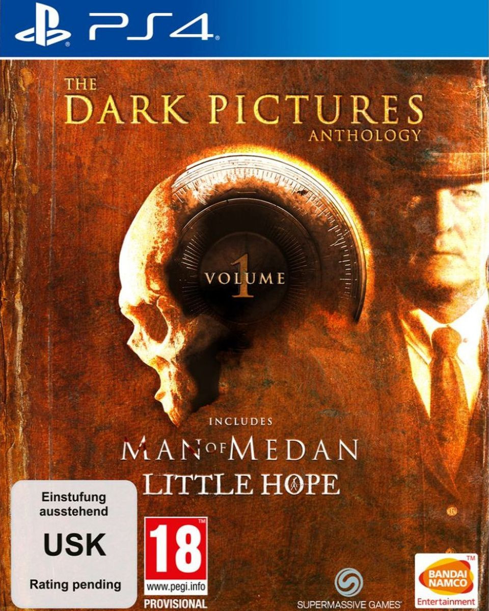 PS4 The Dark Pictures Anthology - Volume 1 Limited Edition