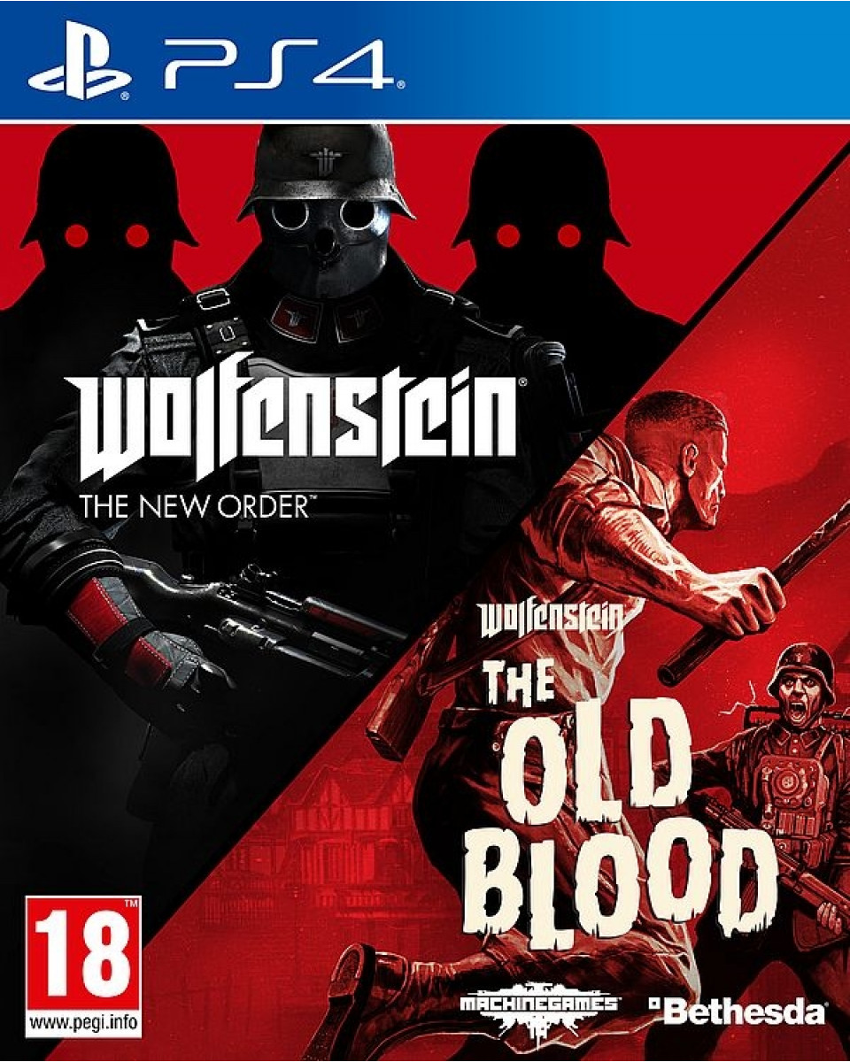 PS4 Wolfenstein - The New Order + The Old Blood