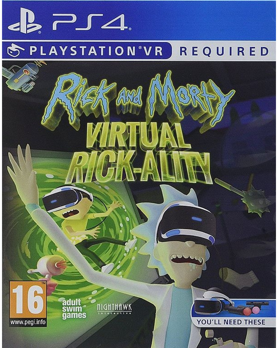 PS4 Rick and Morty - Virtual Rick-ality VR