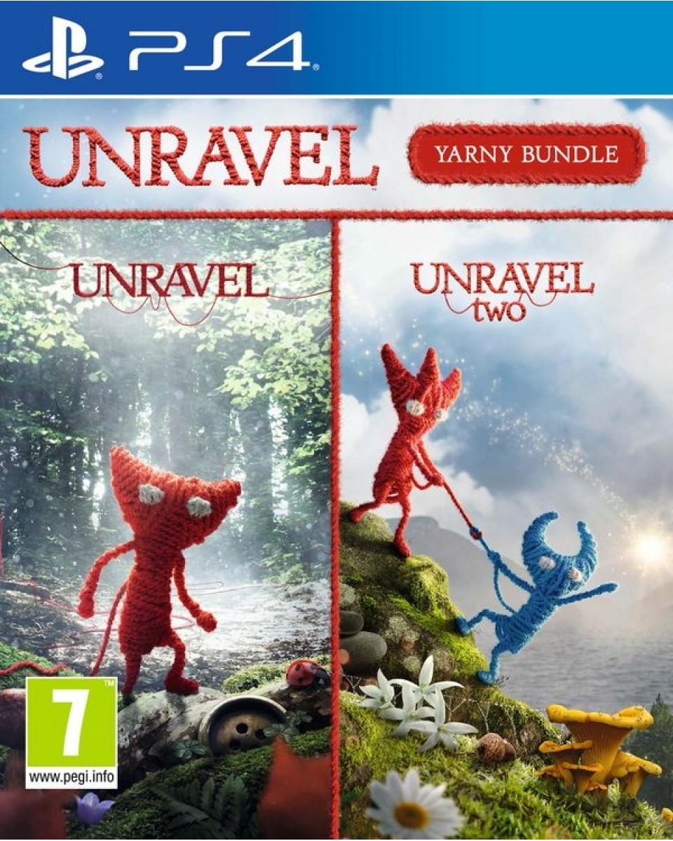 PS4 Unravel Yarny Bundle