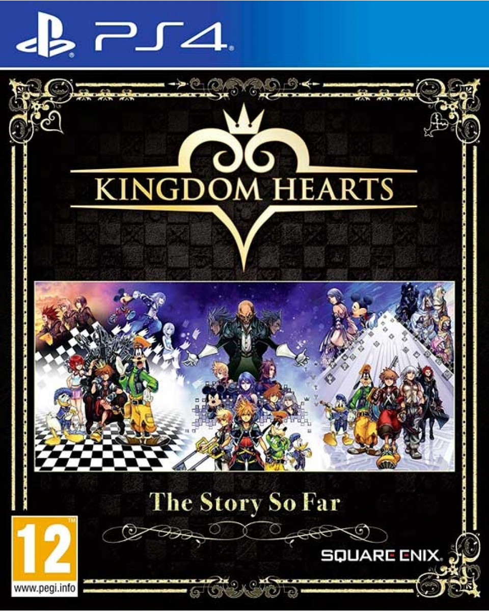 PS4 Kingdom Hearts - The Story So Far