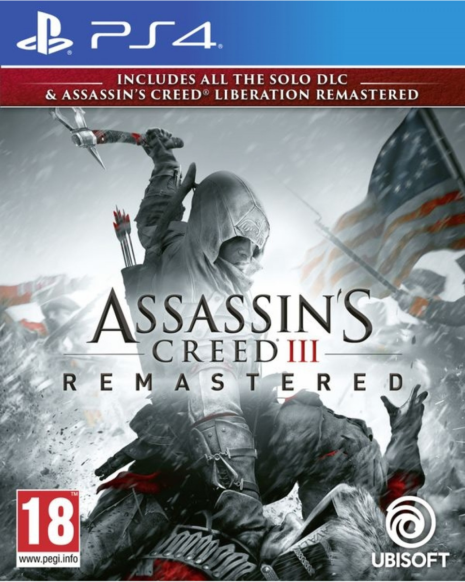 PS4 Assassin's Creed 3 & Liberation HD Remastered