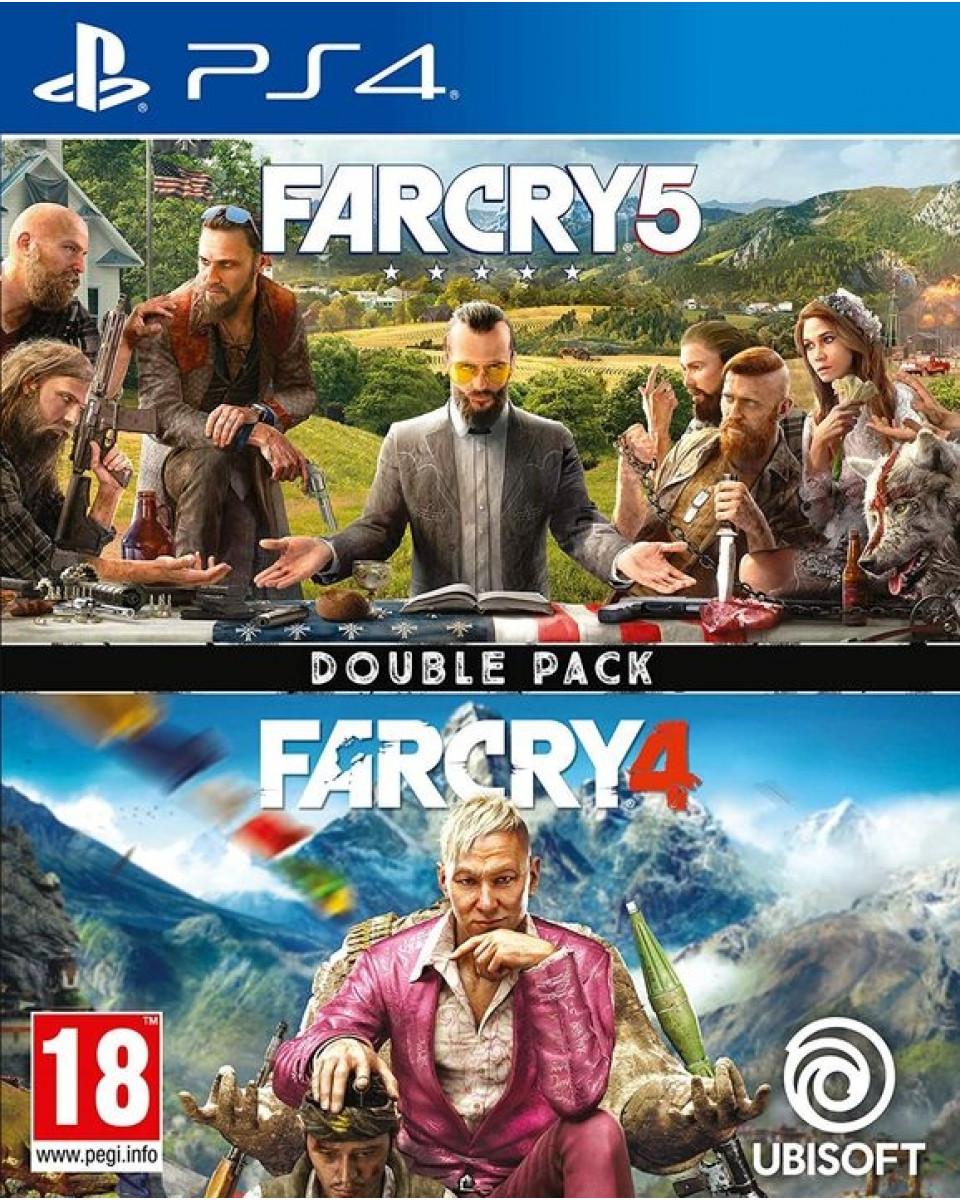 PS4 Far Cry Double Pack ( Far Cry 4 + Far Cry 5 )
