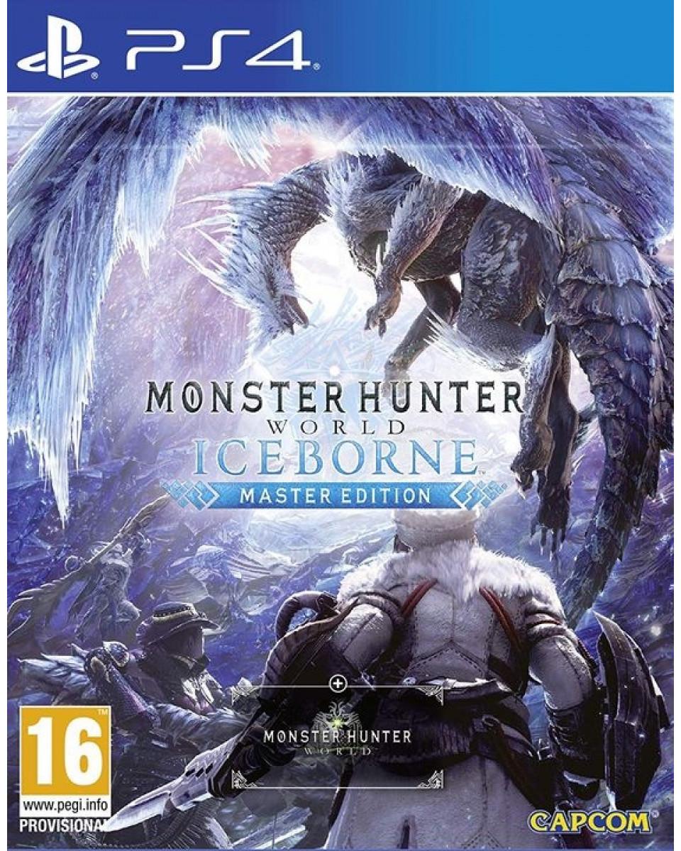 PS4 Monster Hunters - World Iceborn - Master Edition
