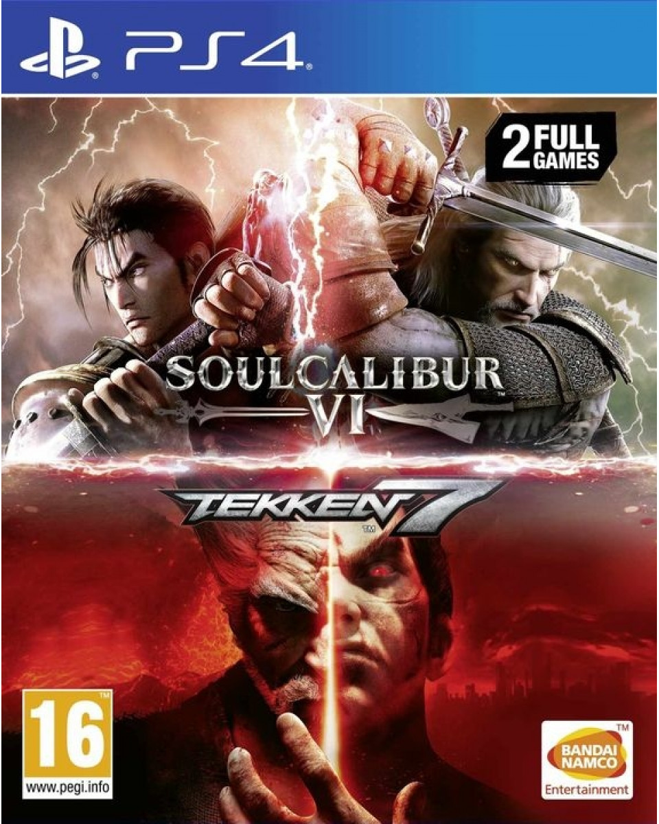 PS4 Double Pack Soulcalibur VI & Tekken 7