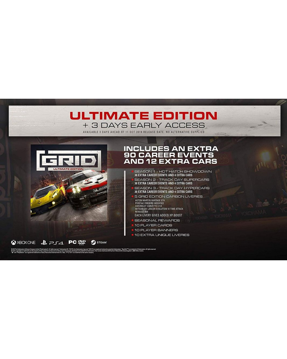 PS4 Grid - Ultimate Edition