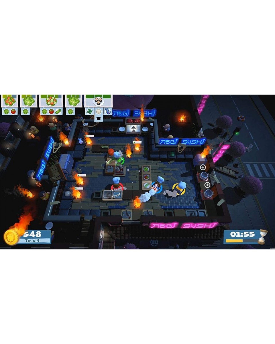 PS4 Overcooked + Overcooked 2 Double Pack