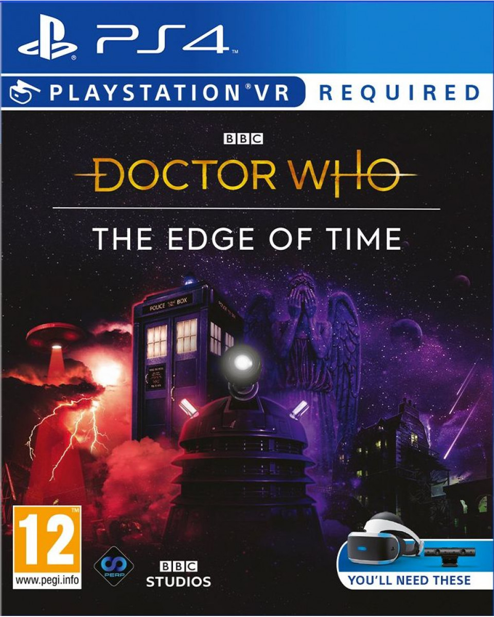 PS4 Doctor Who - The Edge of Time