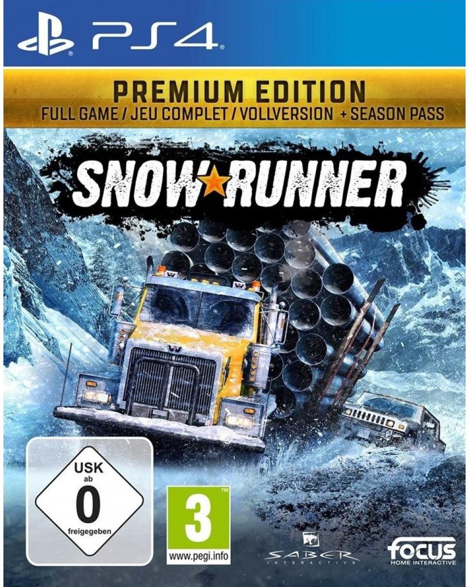 PS4 SnowRunner- Premium Edition