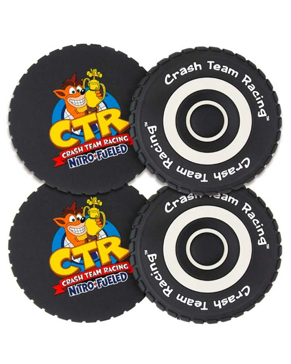 Podmetači za čaše Crash Team Racing - Nitro Fueled