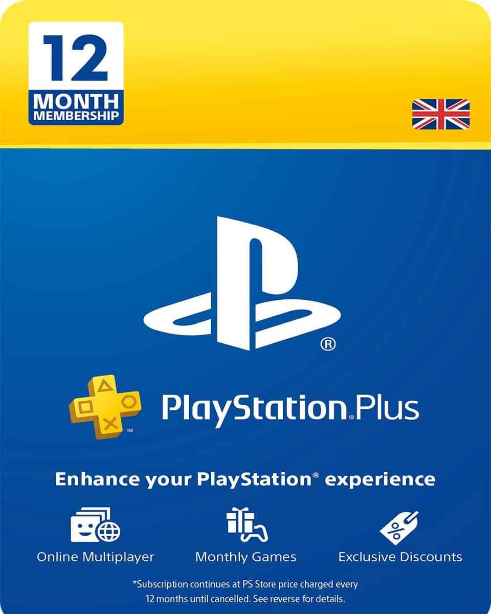 Playstation Plus PSN pretplata - 12 meseci - UK