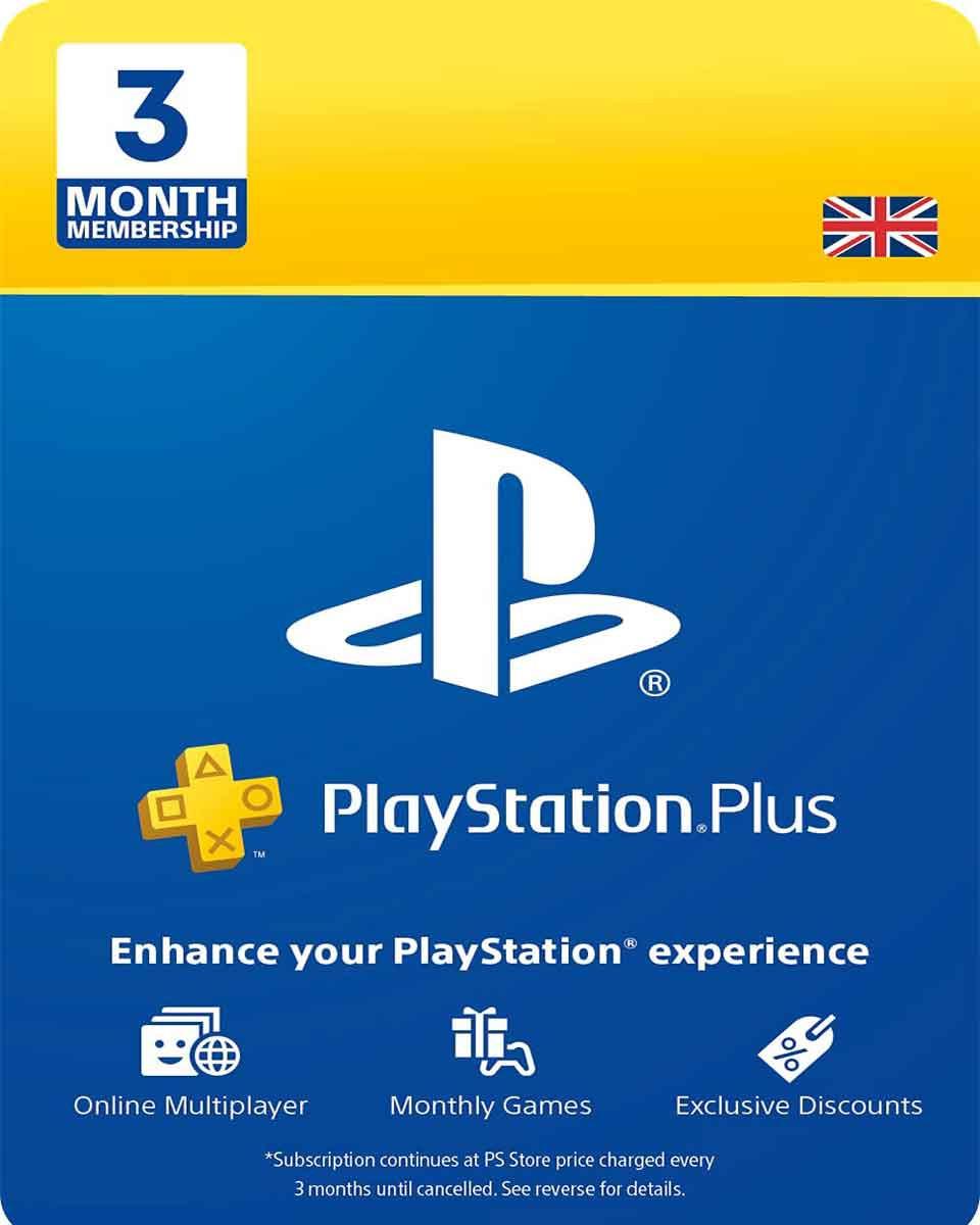 Playstation Plus PSN pretplata - 90 dana - UK