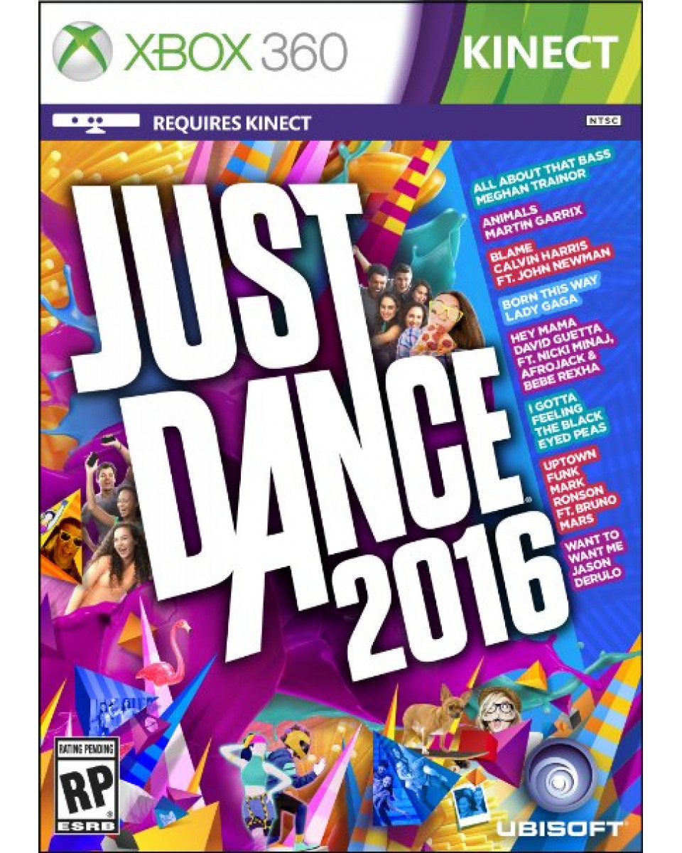 XB360 Just Dance 2016