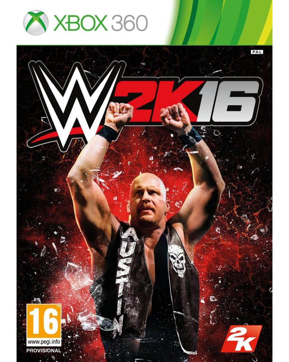 XB360 WWE 2K16