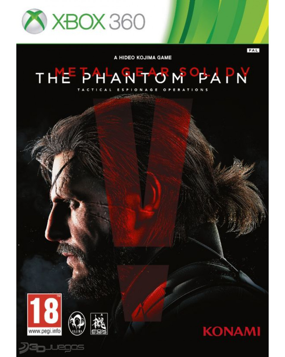 XB360 Metal Gear Solid 5 - The Phantom Pain