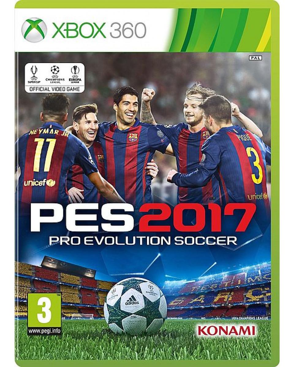 XB360 Pro Evolution Soccer 2017 - PES 2017