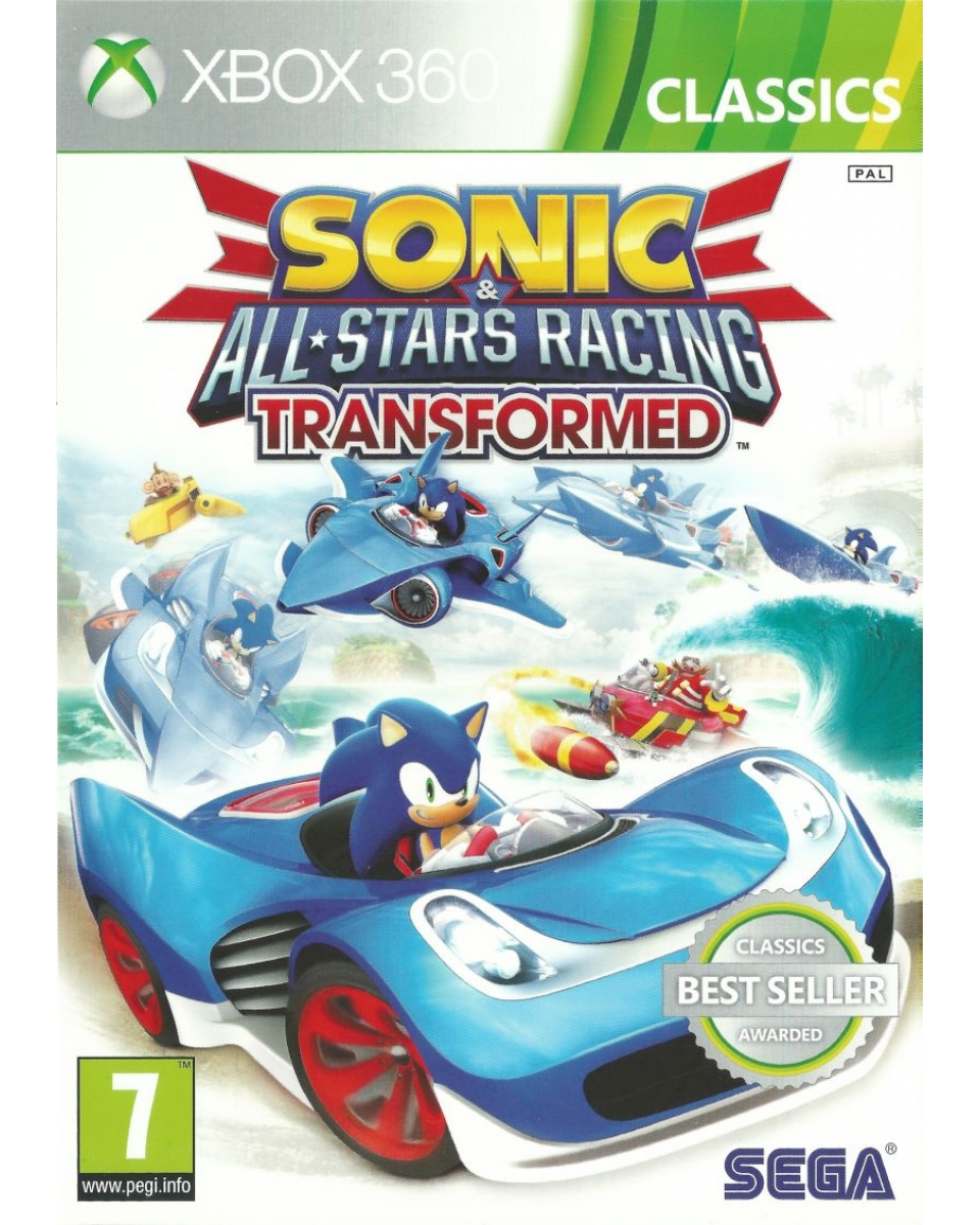 XB360 Sonic & Sega All Stars Racing Transformed