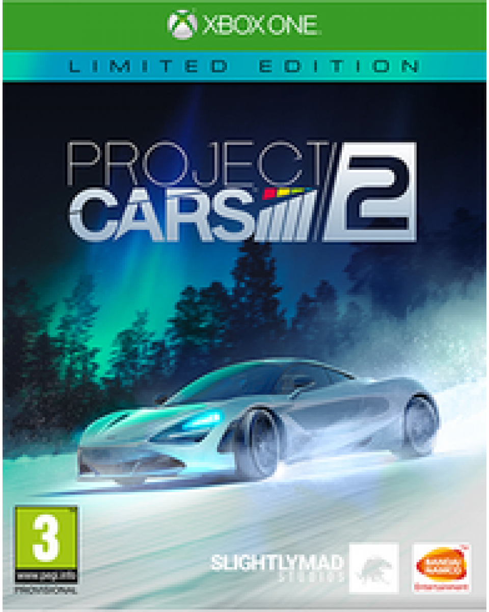 XBOX ONE Project Cars 2 - Limited Edition