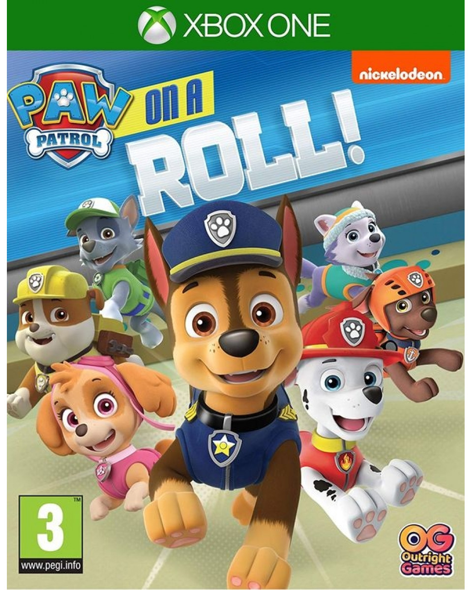 XBOX ONE Paw Patrol - On a Roll !