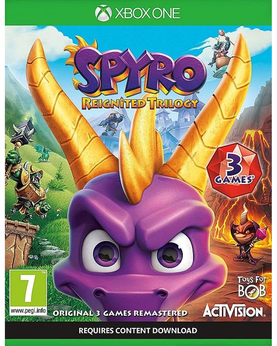XBOX ONE Spyro Trilogy Reignited