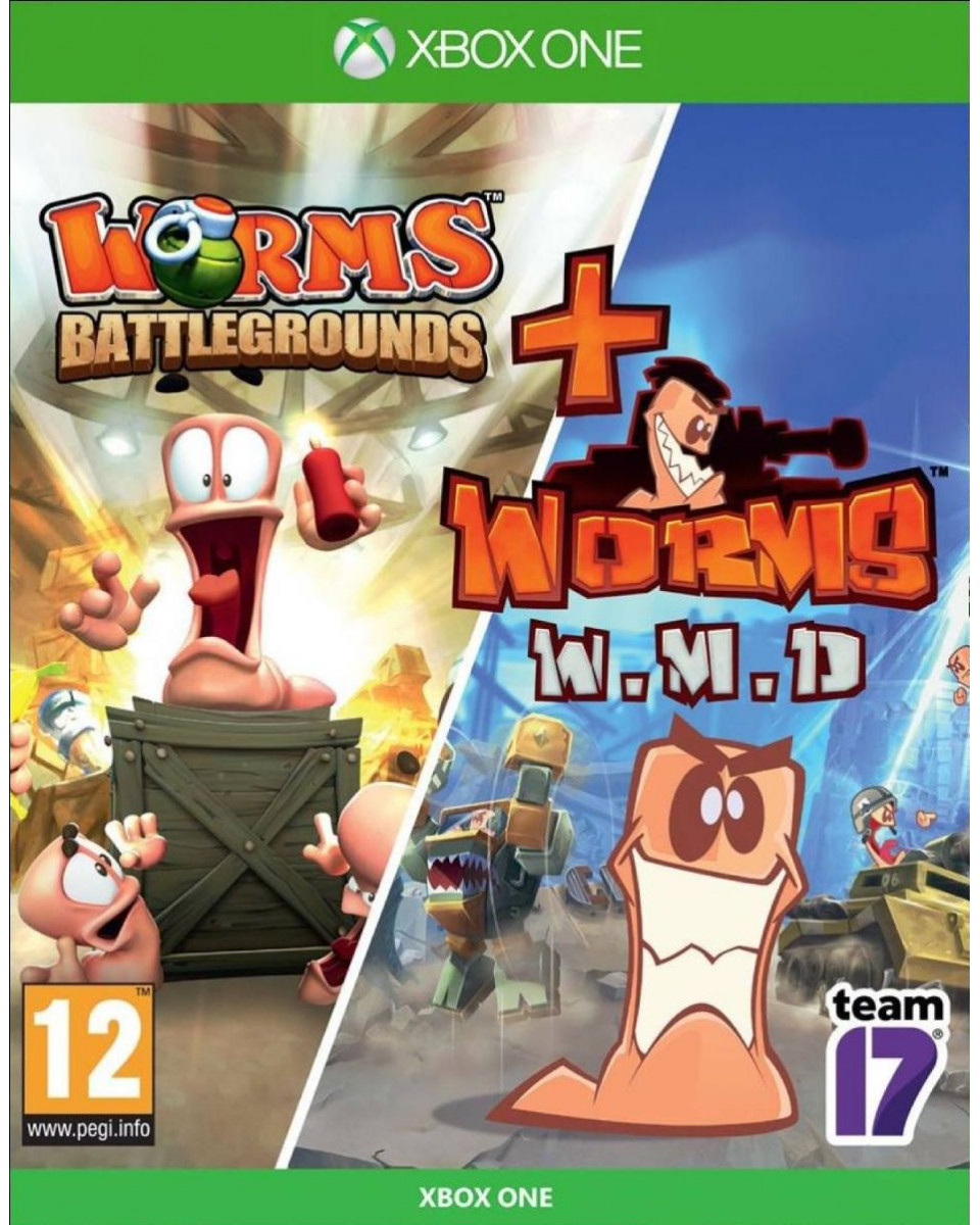XBOX ONE Worms Doublepack - Battlegrounds + WMD