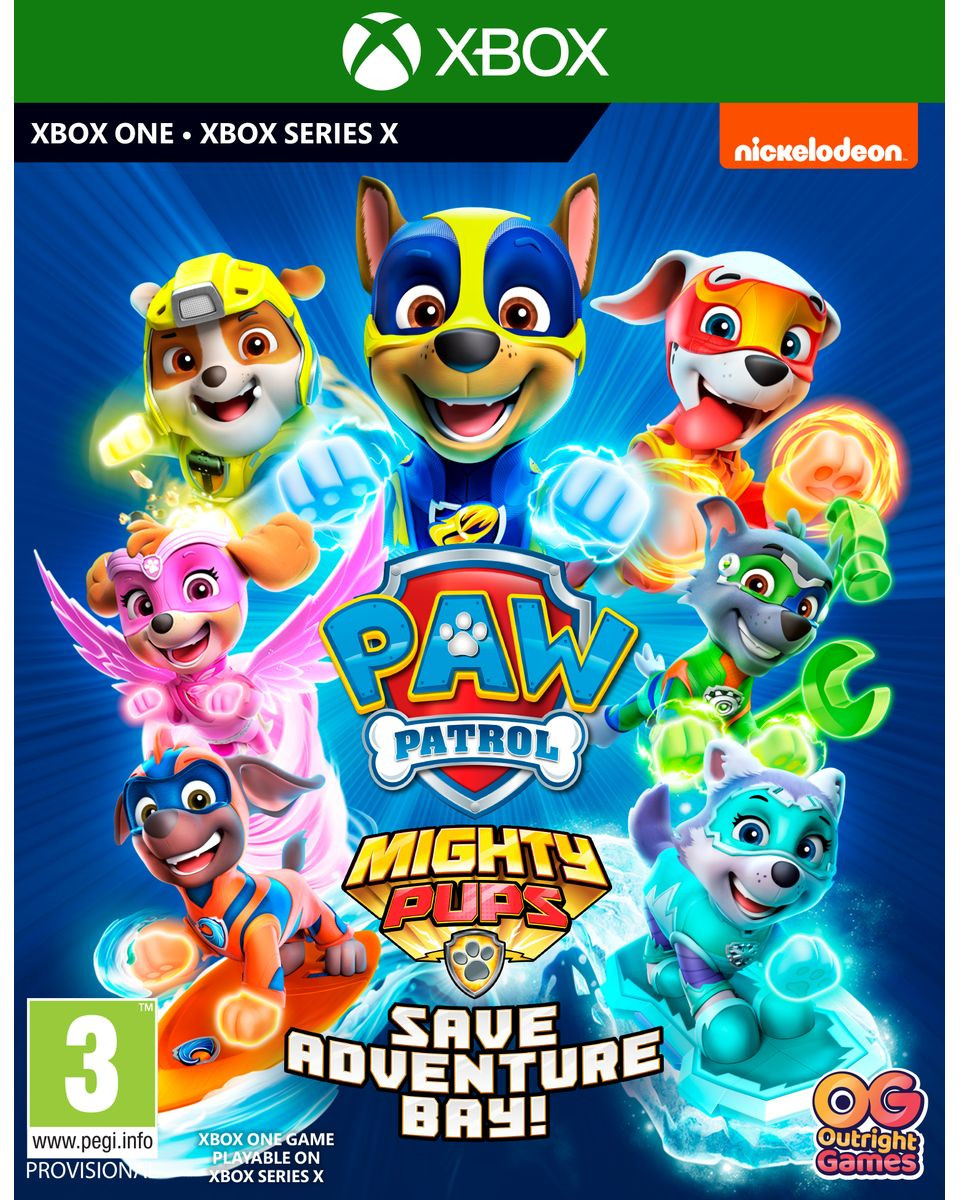 XBOX ONE Paw Patrol - Mighty Pups Save Adventure Bay