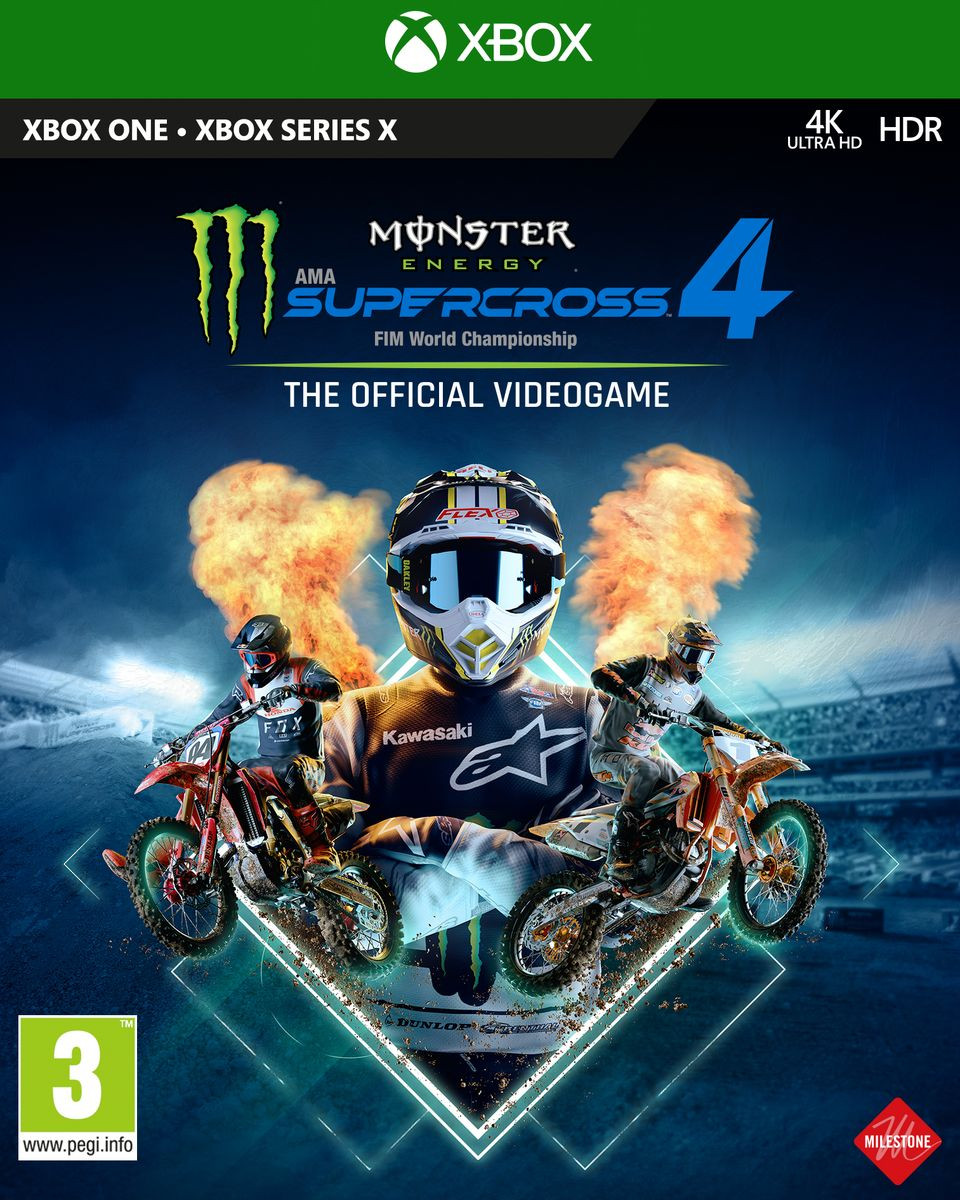 XBOX ONE Monster Energy Supercross - The Official Videogame 4