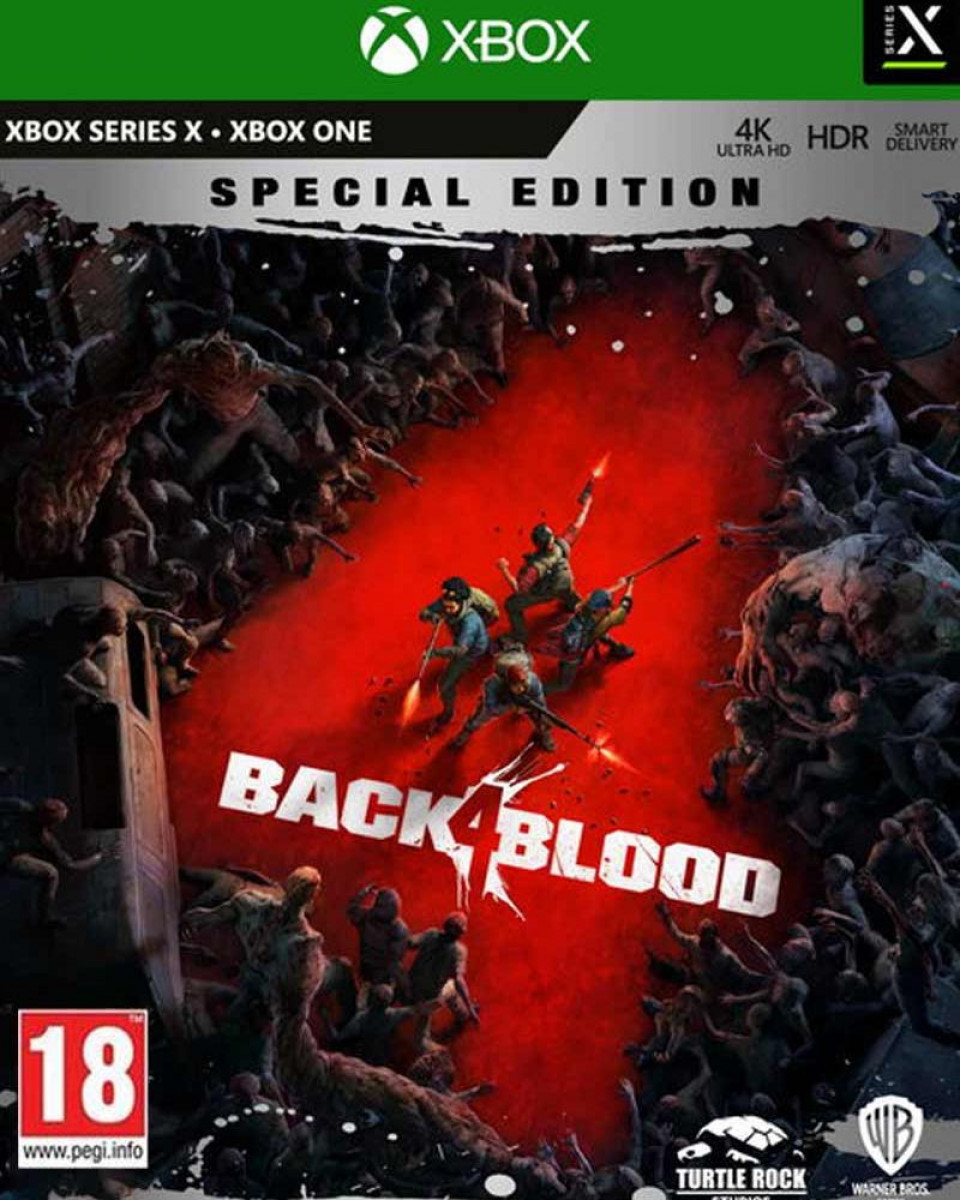 XBOX ONE XSX Back 4 Blood Steelbook Special Edition - Day One