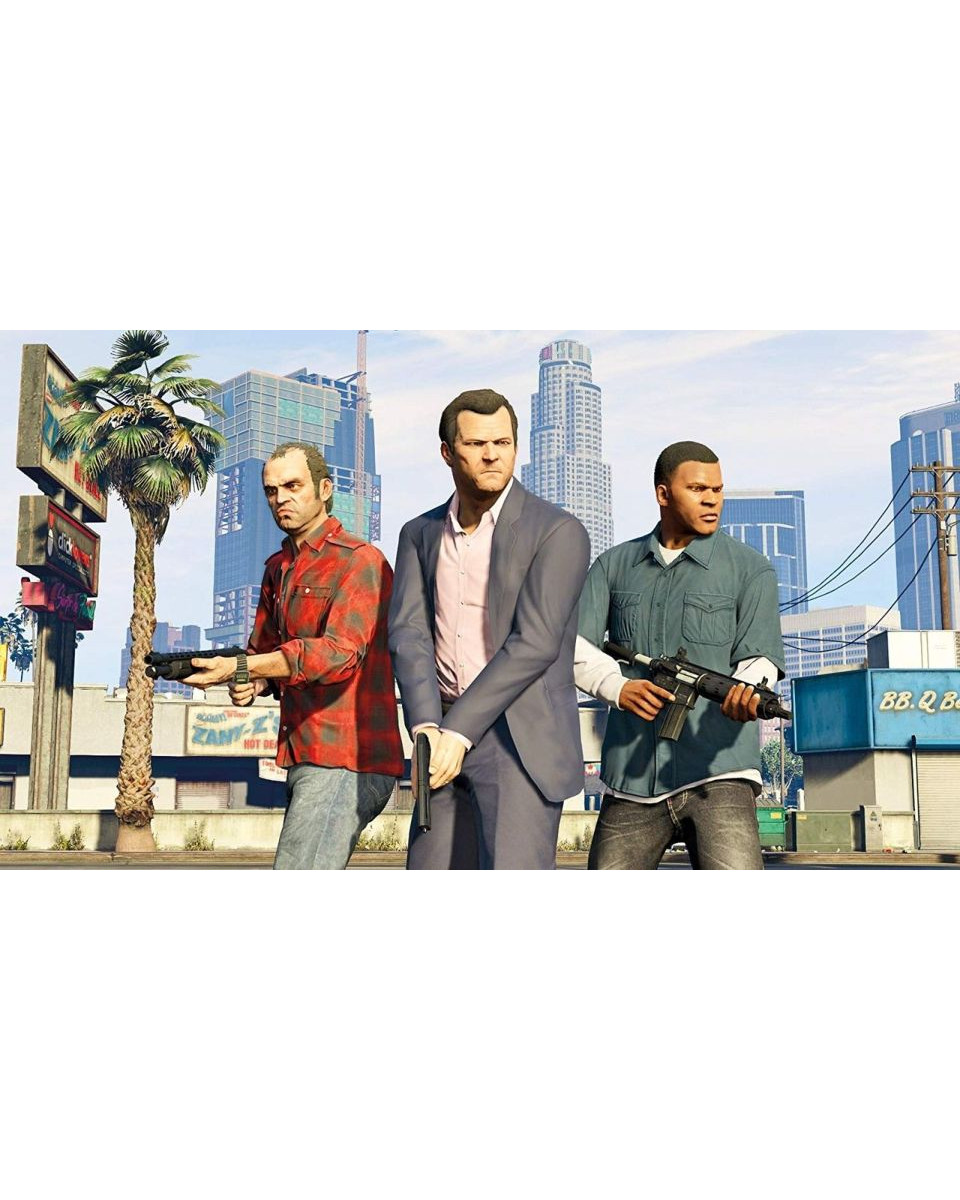 PS4 Grand Theft Auto 5 - GTA V - Premium Edition