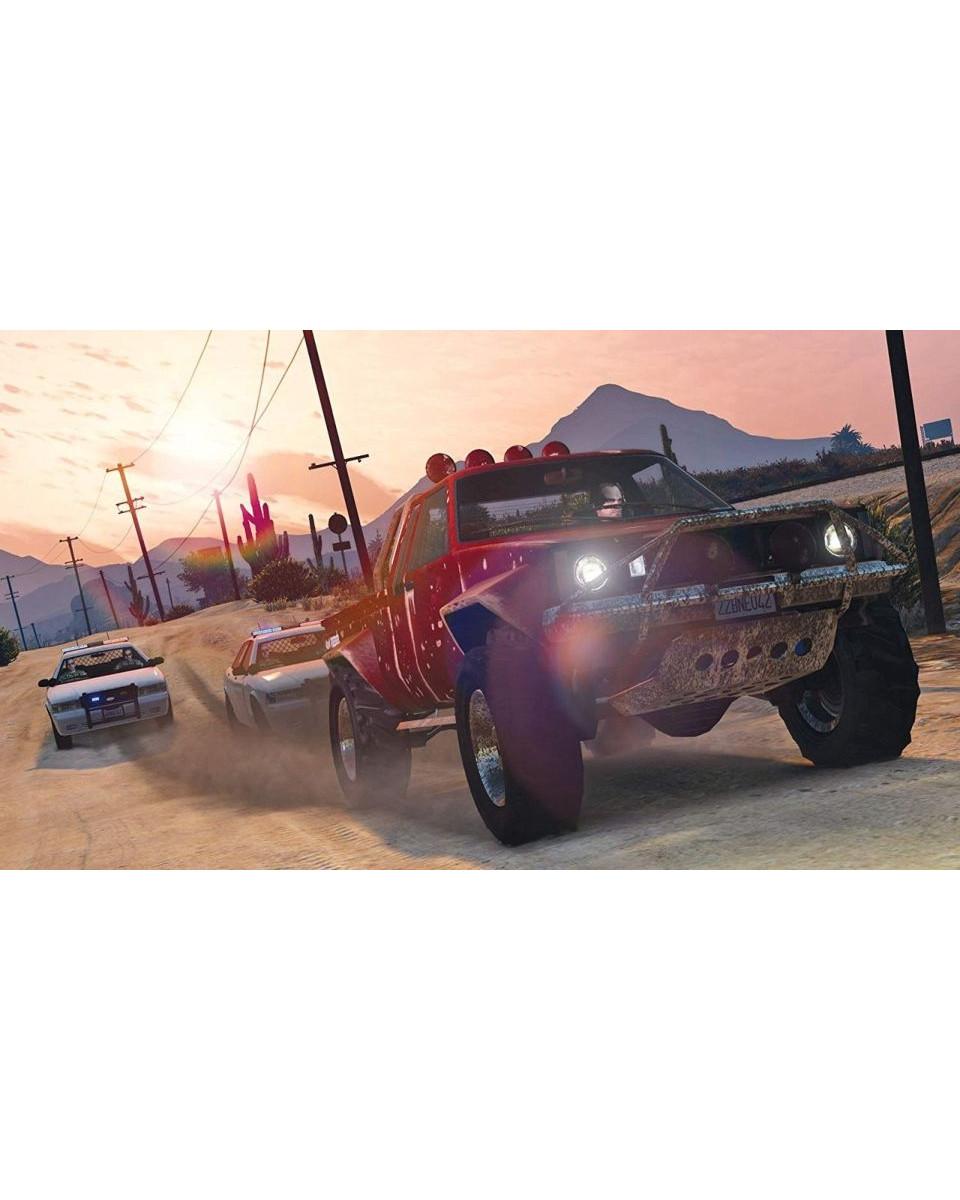 PS4 Grand Theft Auto 5 - GTA V - Premium Edition