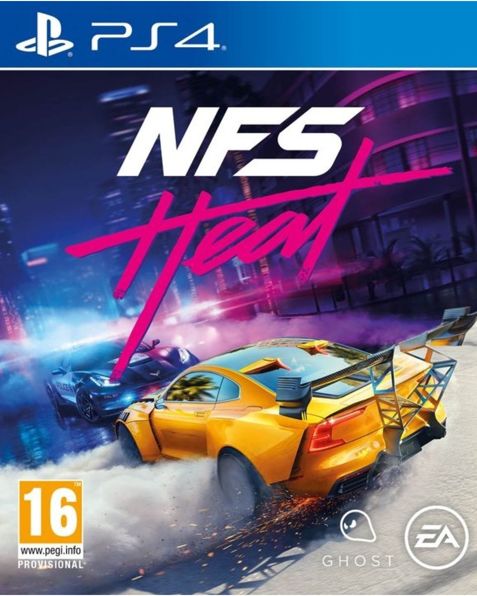 PS4 Need for Speed Heat